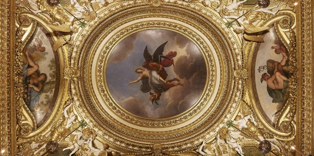 Plafond chambre du Roi - Vaux-le-Vicomte