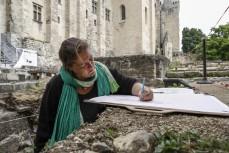 Anne Allimant-Verdillon - Archéologue des jardins