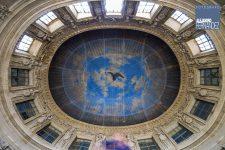 Plafond Grand Salon avant restauration
