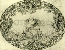 fresque initialement prévue pour le plafond du Grand Salon par Le Brun