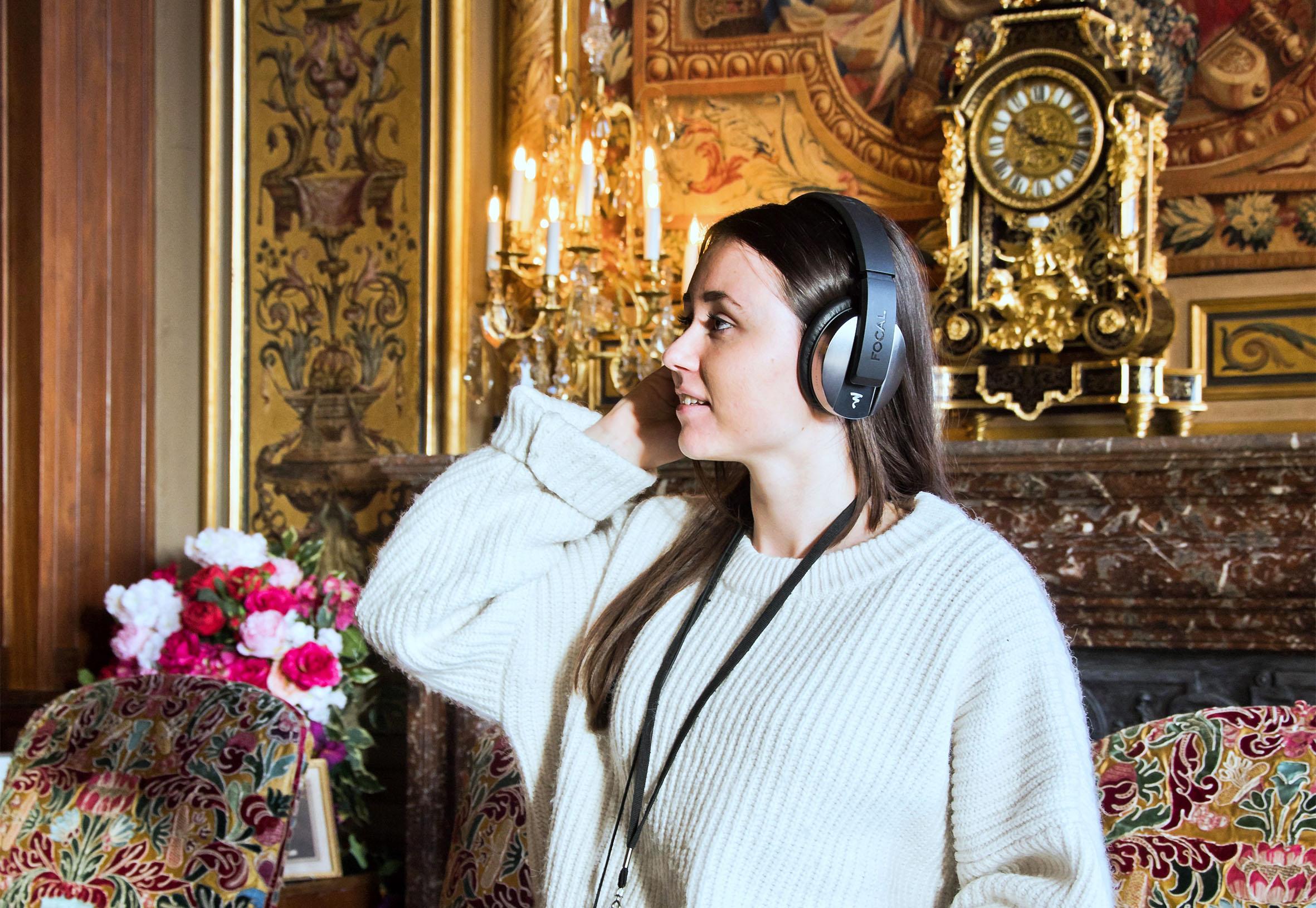 Parcours sonore immersif à Vaux-le-Vicomte