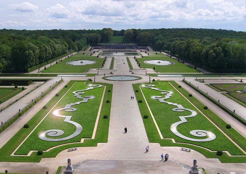 Rubans Ephémères jardins de Vaux-le-Vicomte