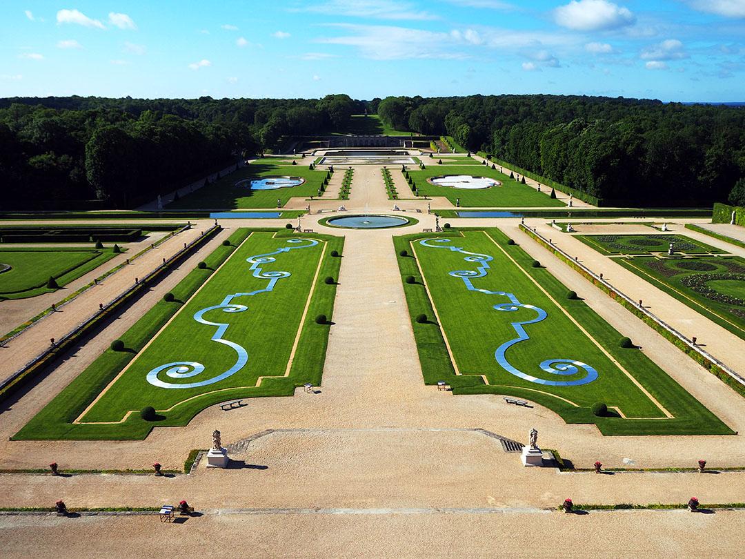 Jardin Classique À La Française le jardin à la française - château de vaux-le-vicomte