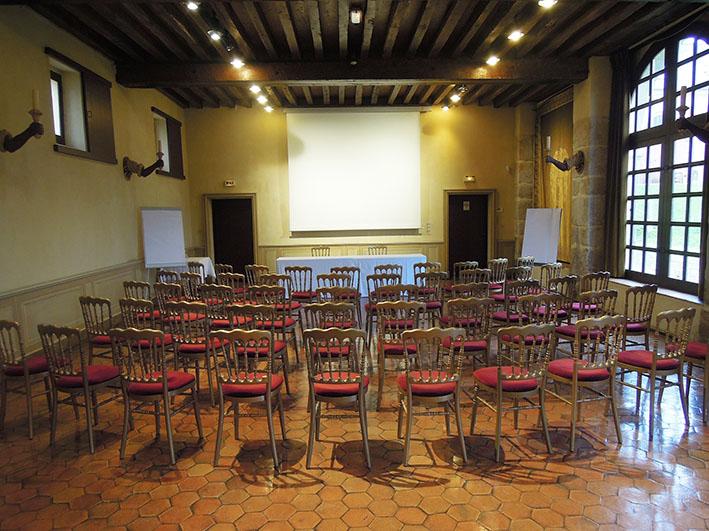 Salle Fouquet séminaire en demi-lune