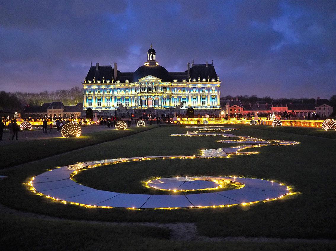 illuminations lumières jardins vaux