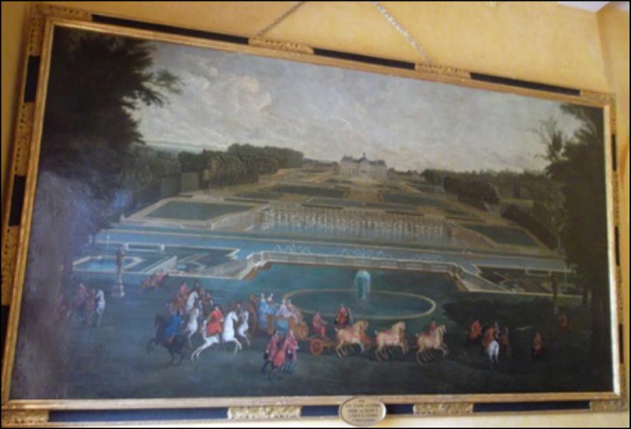 Détail du Château de Vaux-le-Vicomte