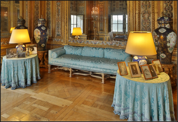 Cabinet des Jeux du Château de Vaux-le-Vicomte